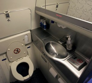 Airplane changing tables which airlines have them which for Changing table for bathroom