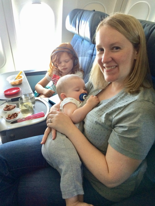 Best and Worst Ages to Fly with Kids - Baby in First Class