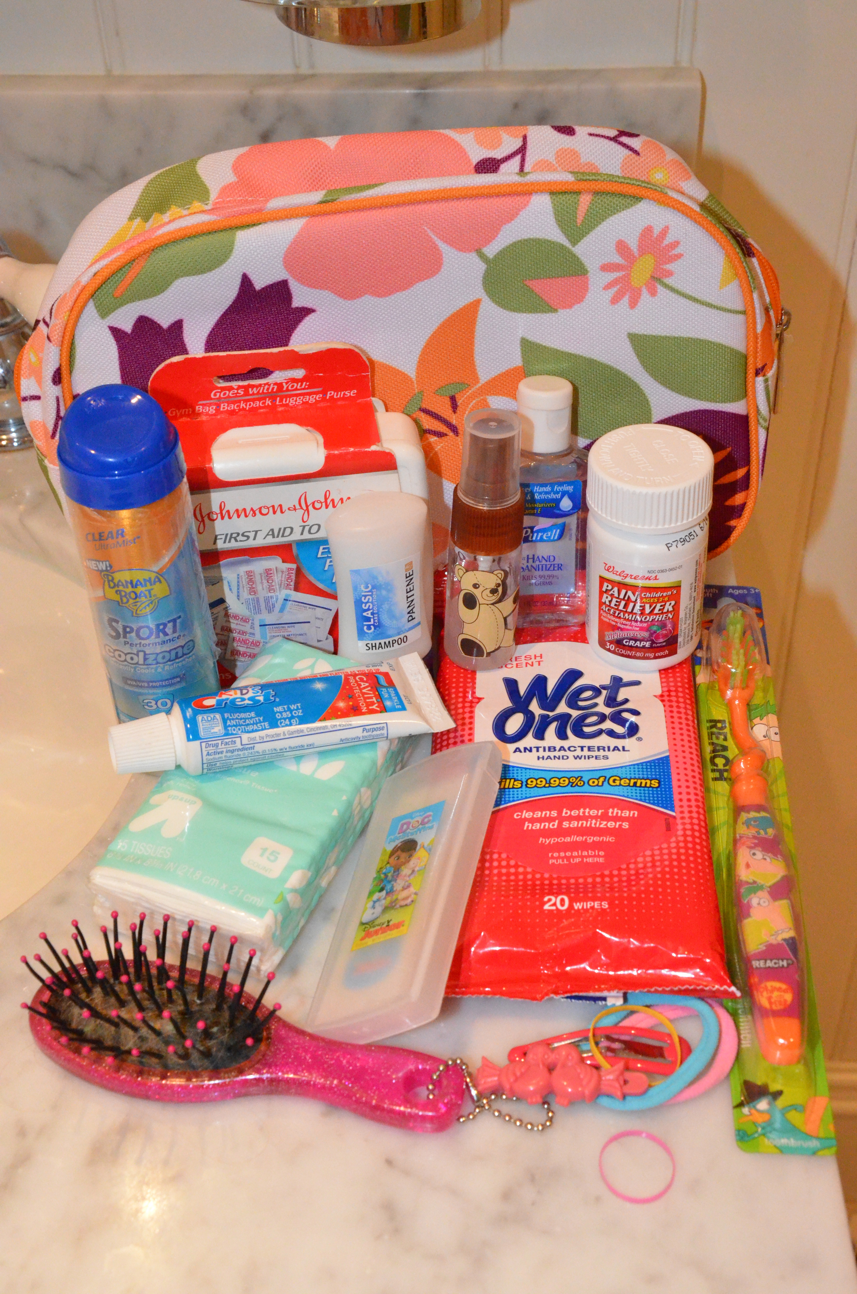 Pre Pack Your Child S Toiletry Kit Trips With Tykes