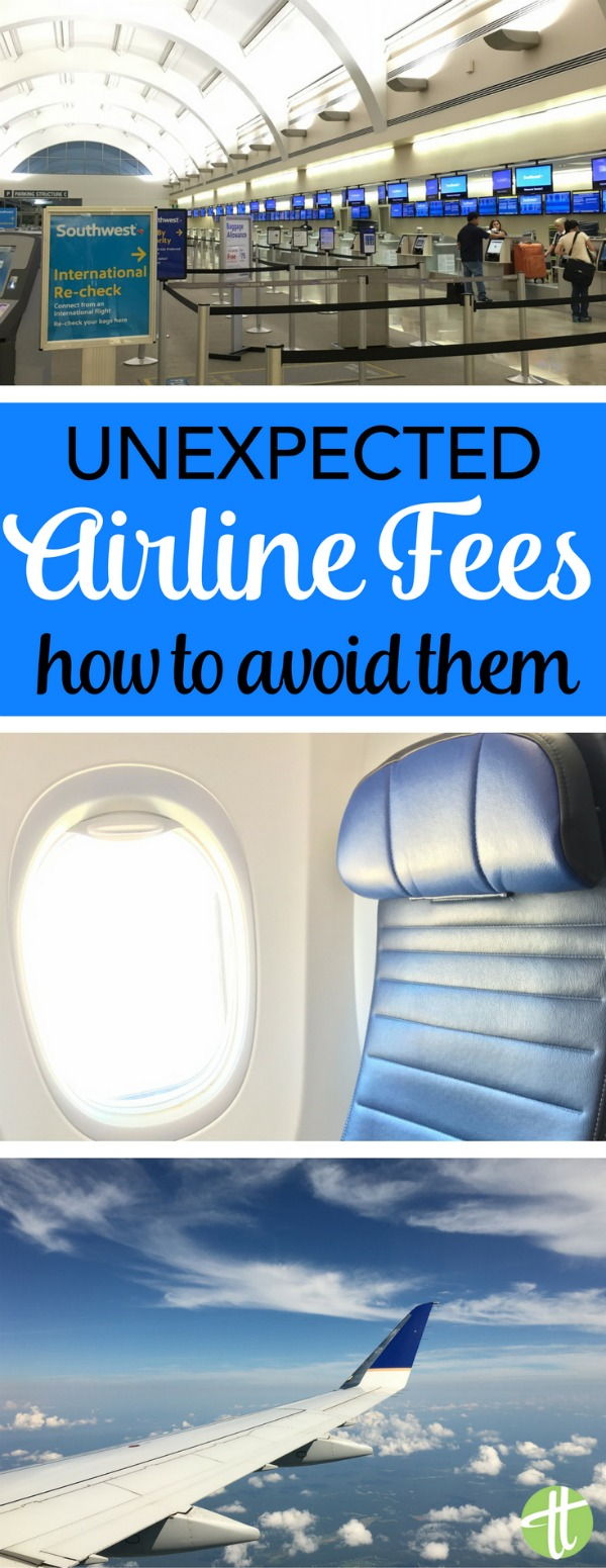 Airline a la carte fees are increasing. It's not just checked bags anymore! Find out what new fees you should watch out for before your next flight.