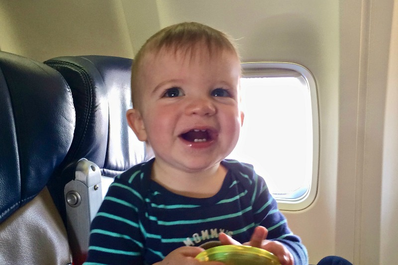 Babys First Flight