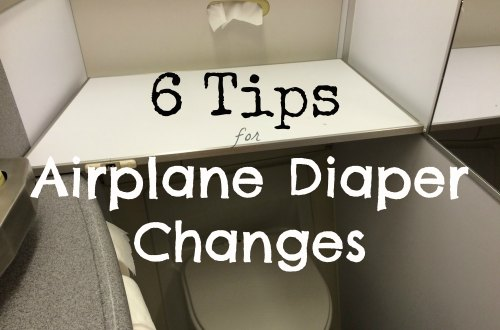 6 Tips for Changing Diapers on a Plane