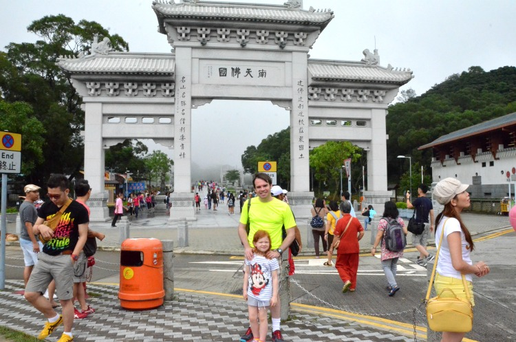 Hong Kong with Kids - Ngong Ping