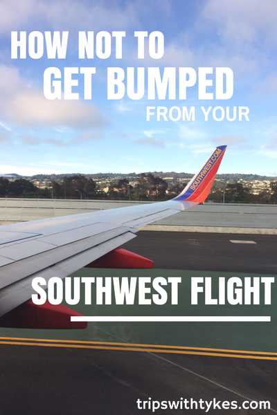 How Not to Get Bumped From Your Southwest Flight