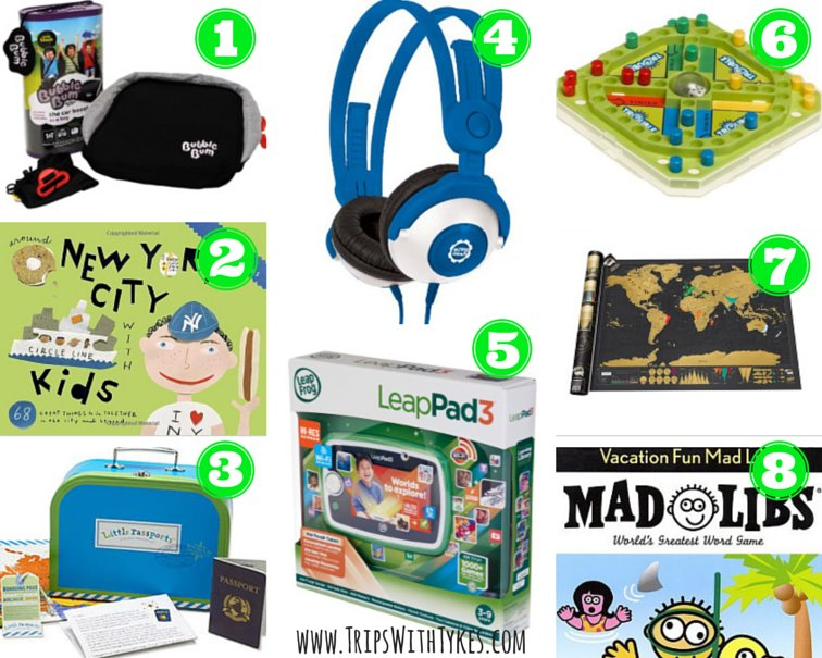 Holiday Gifts for Traveling Kids