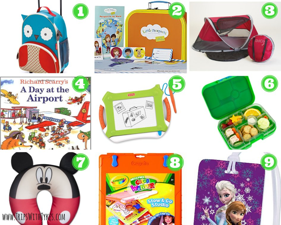 Holiday Gifts for Traveling Toddlers & Preschoolers