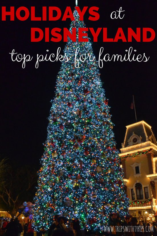 Holidays at Disneyland: Tops Picks for Families With Young Kids