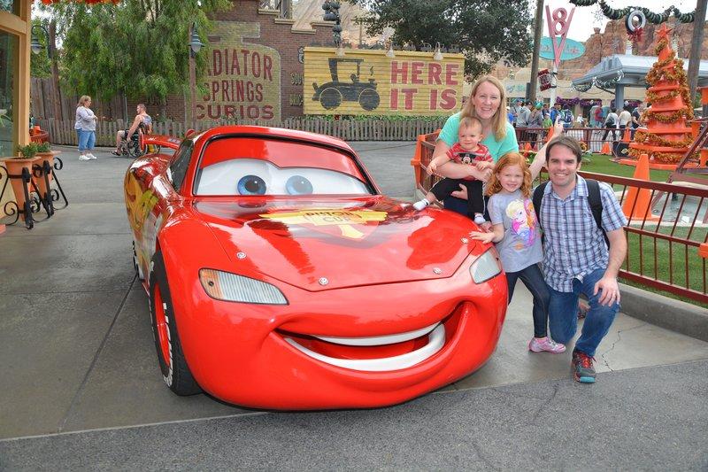 Disneyland Lightning McQueen Meet & Greet