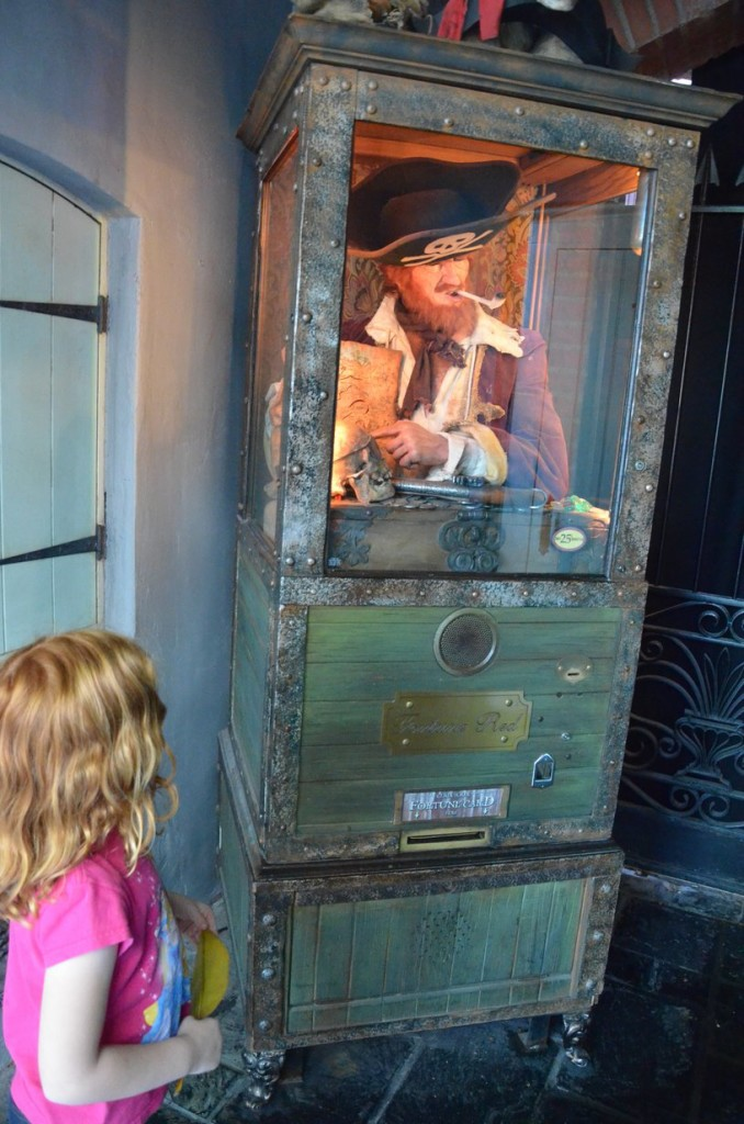 Disneyland with Preschoolers: Pirate Red Fortune Cards