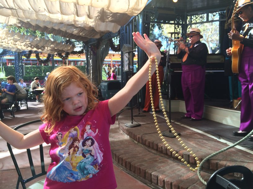 12 Cheap or Free Souvenirs at Disneyland: Mardi Gras Beads in New Orleans Square