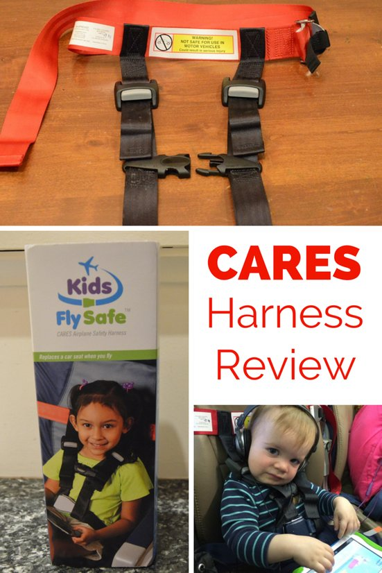 CARES Harness Review: An Alternative to Car Seats on Planes