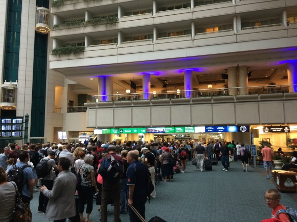 Lines at MCO without CLEAR