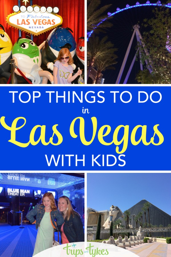 Visiting Las Vegas with kids? The best activities, shows, and things to do with babies, toddlers, and young kids in Sin City, Nevada.