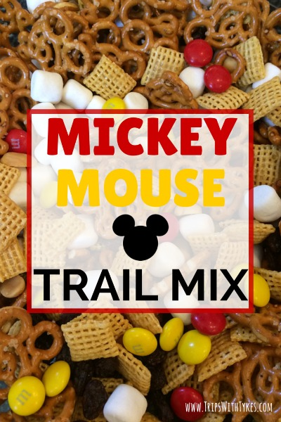 Mickey Mouse Trail Mix Recipe