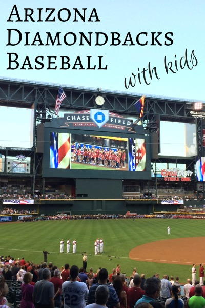 Arizona Diamondbacks Baseball with Kids