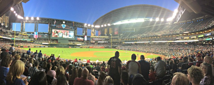 Diamondbacks Chase Field Panorama