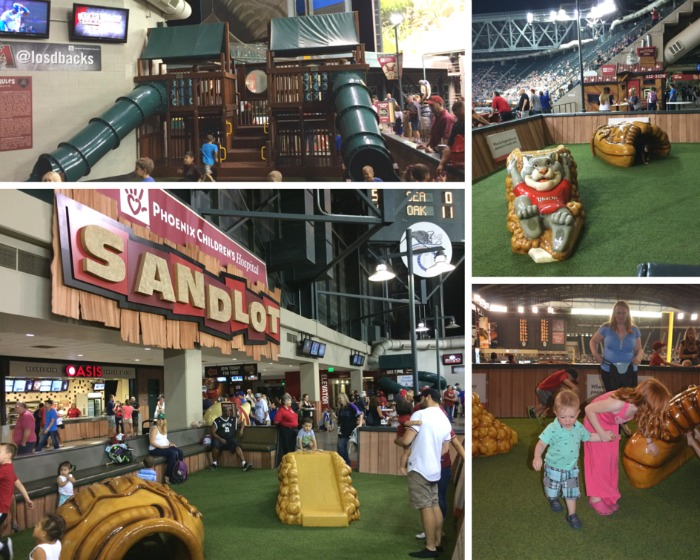 Diamondbacks Play Area