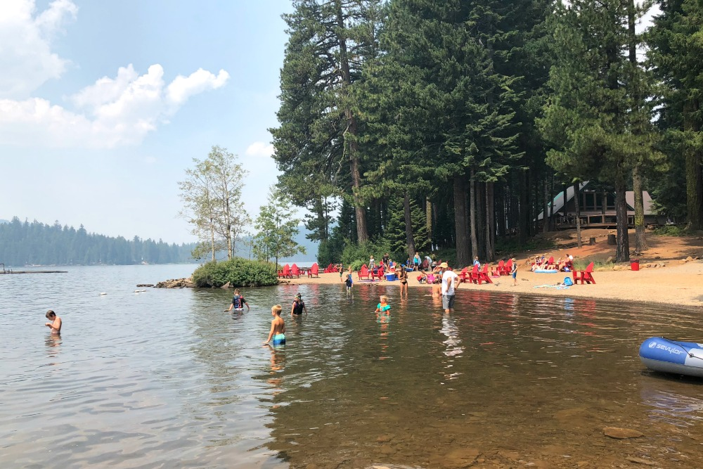 Lake of the Woods Oregon Swimming
