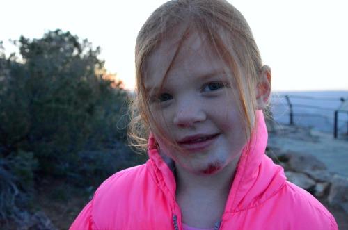 Pushing Kids During Travel - Grand Canyon 1