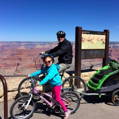 Pushing Kids During Travel - Grand Canyon 2