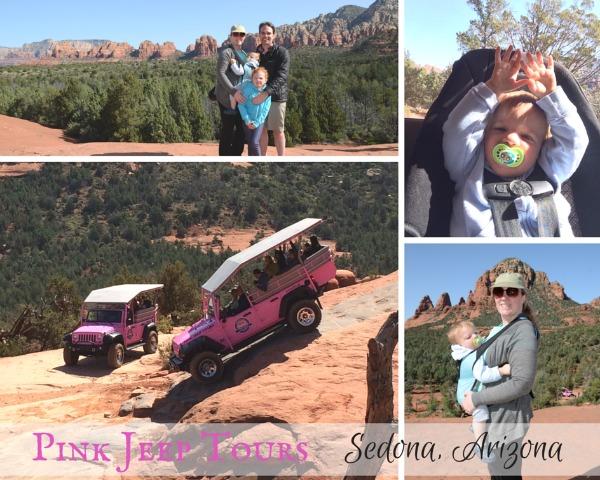 Sedona Arizona With Kids - Pink Jeep Tour Collage