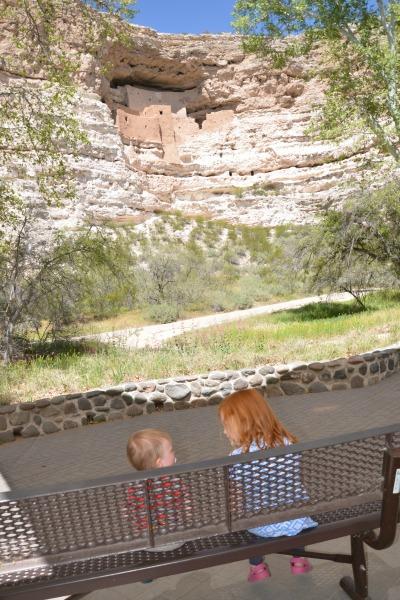 Sedona Arizona with Kids - Montezuma Castle