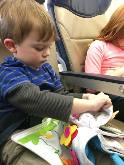 Tech Free Entertainment for Travel - Busy Book