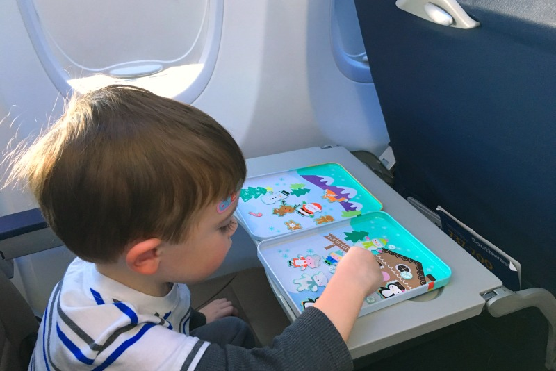 Tech Free Travel Entertainment for Kids - Magnetic Play Set
