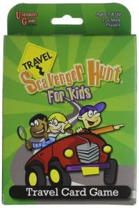 Tech free - Travel Scavenger Hunt Card Game