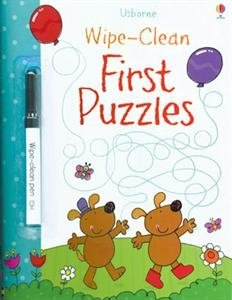 Tech free - Usborne Wipe Clean Book