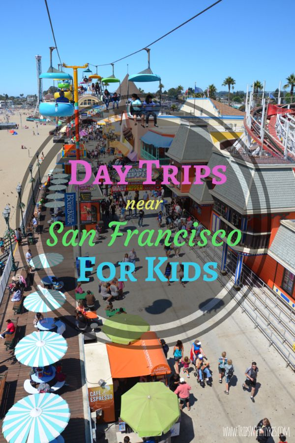 Top KidFriendly Day Trips Near San Francisco Trips With Tykes - 10 family friendly activities in san francisco