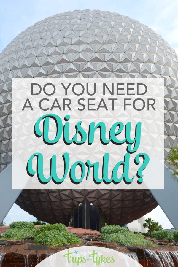 Do you need a car seat for Disney World vacations with kids? The full scoop on rental car seats in Orlando, Disney transportation options, the Magical Express, Minnie Vans, ridesharing, and more. #DisneyWorld #DisneyKids #CarSeat #Disney #MinnieVans