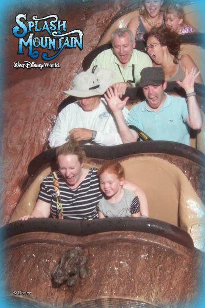 Disneyland vs. Disney World Splash Mountain