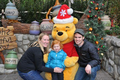 Disneyland vs. Disney World Winnie the Pooh