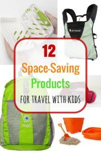 Space-Saving Kid Travel Gear