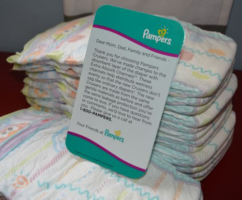 Travel and Diapers Pampers New Design