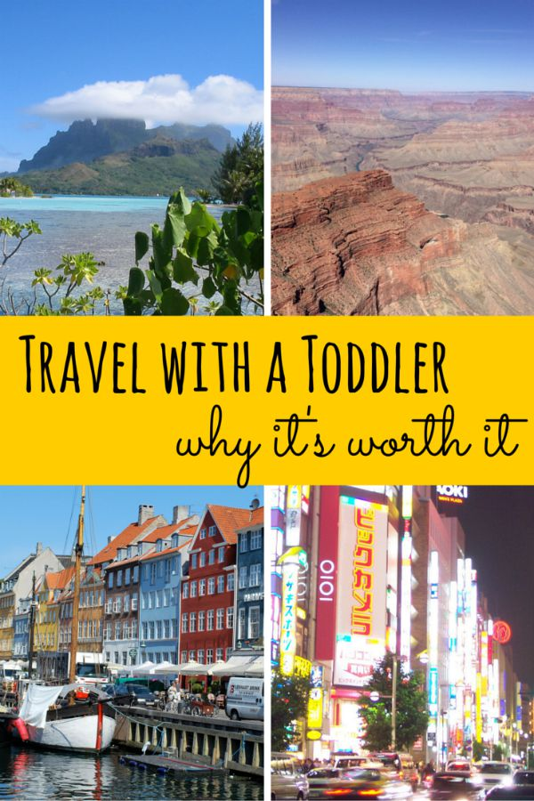 Benefits of World Travel with a Toddler