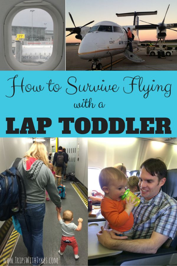 How to Survive a Flight with a Lap Toddler
