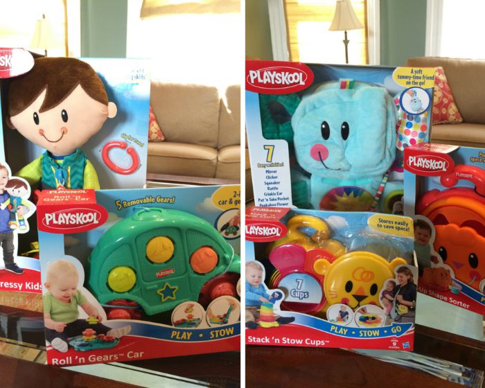 Playskool Play Stow Go Space-Saving Toys