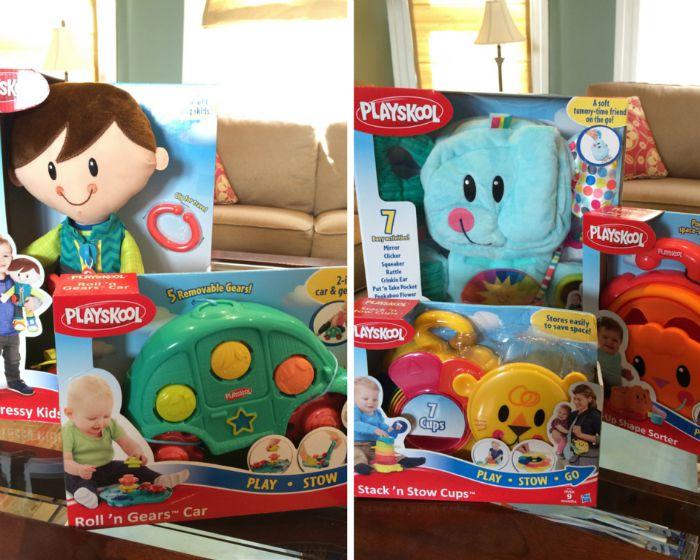 Playskool Play Stow Go Space-Saving Toys