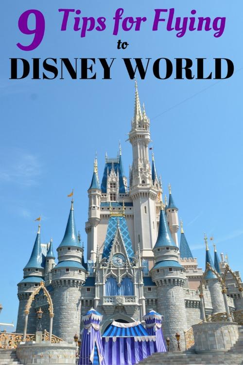 Tips for Flying to Walt Disney World