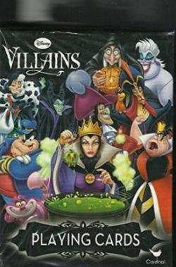 Disney Stocking Stuffers - Disney Villains Playing Cards
