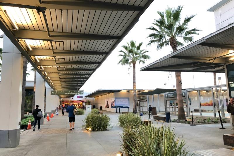 Flying to Disneyland - Long Beach Airport LGB
