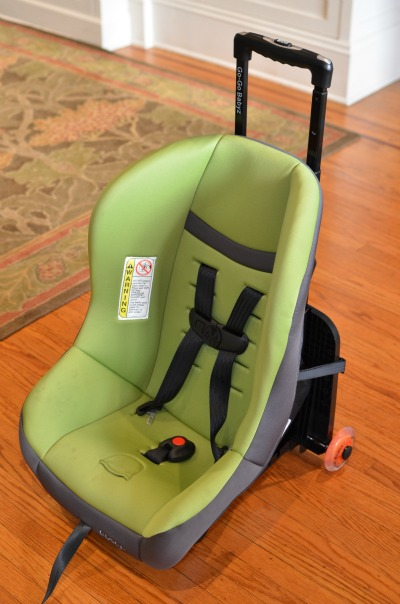 Go-GoBabyz Travelmate Review - Installed with Cosco Scenera