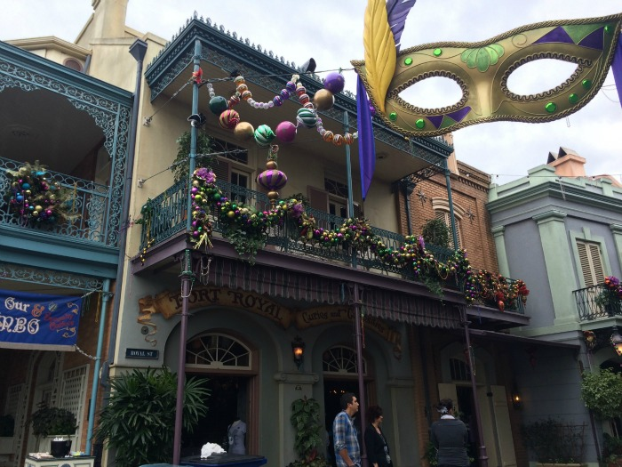 Disneyland Date Night - Blue Bayou New Orleans Square at Christmas