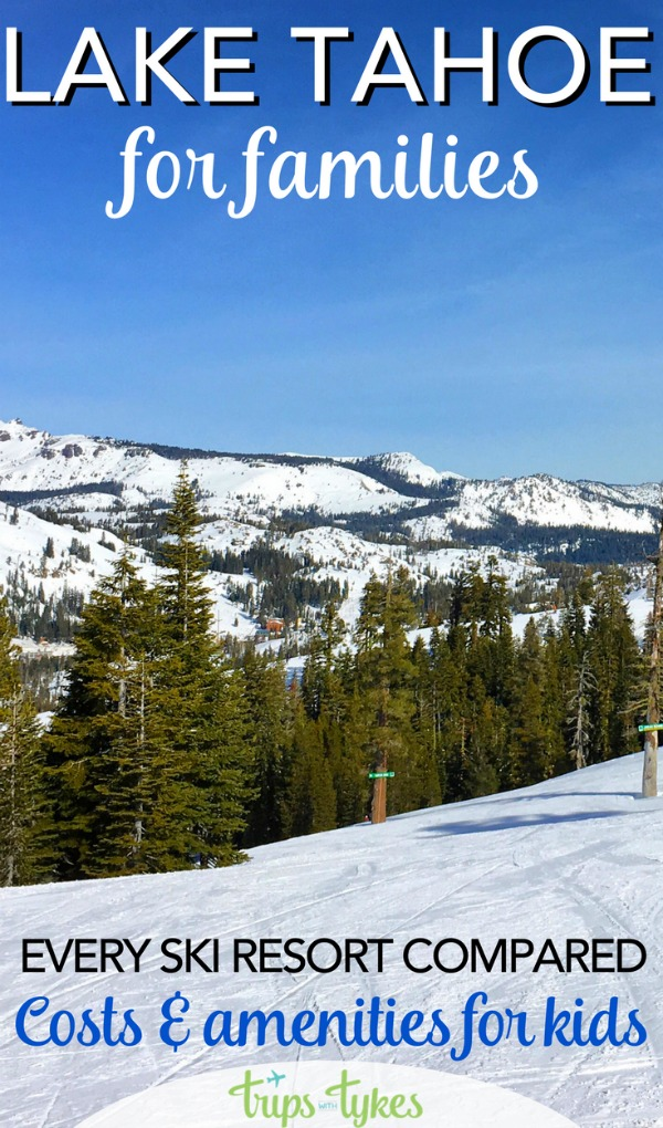 Planning a Lake Tahoe family ski vacation in Nevada or California? Compare costs and amenities at resorts like Northstar, Squaw Valley, and Heavenly. Ski school pricing, lift tickets, things to do, and all the details to help you budget and plan.