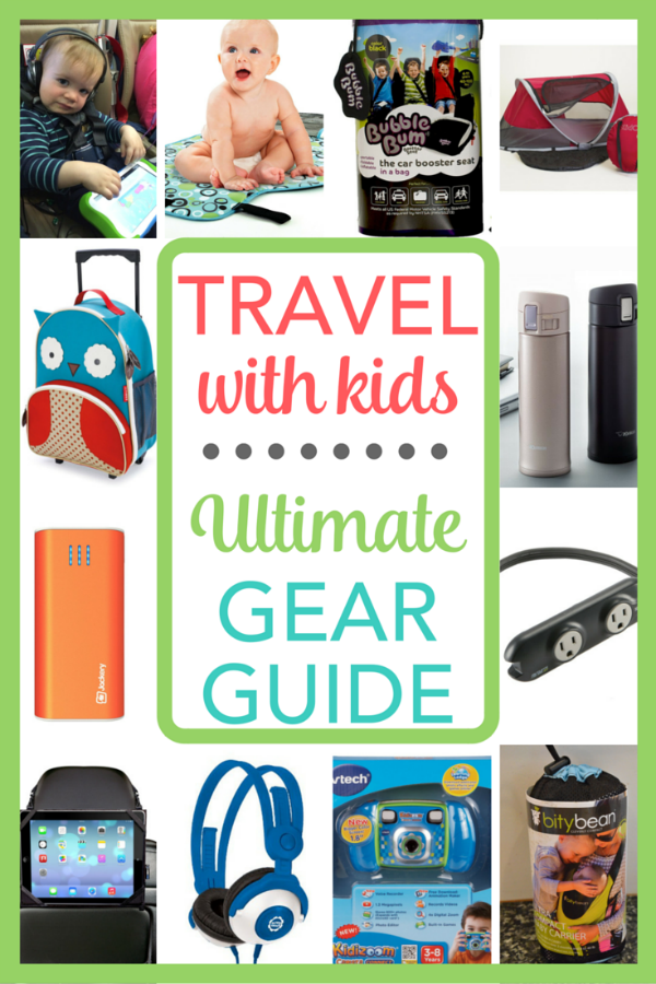 Flying or taking a road trip with kids? This travel gear guide highlights some of the very best products, gadgets, and bags for family travelers.