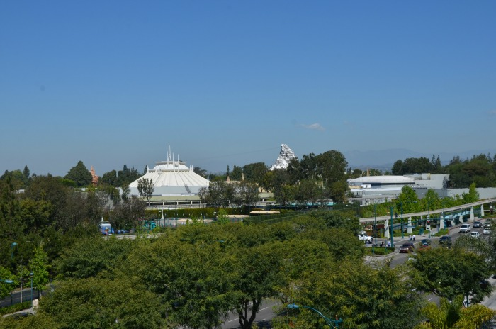 Grand Legacy at the Park Rooftop Disneyland View