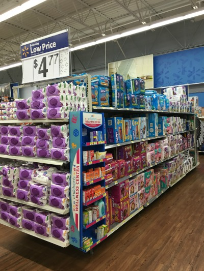 Potty Training During Travel - Pull-Ups at Walmart