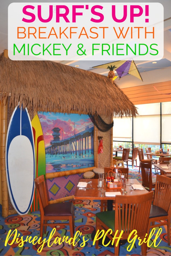 Considering character dining at Disneyland? Surf's Up! Breakfast with Mickey and Friends is a fun-filled option perfect for families with toddlers and young children. Get the details before you book your character meal.